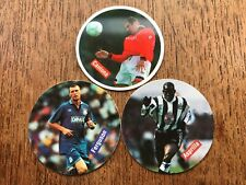 FOOTBALL CAPS 3 Merlin's PREMIER LEAGUE 1996 STICKER COLLECTION numbers 29, 47 a