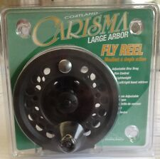 Cortland Carisma Large Arbor 6 to 8 wt Fly Reel Fly Fishing FREE SHIPPING