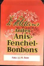 Dr. Soldan´s ANIS-FENCHEL BONBONS, Original Verpackungstüte um 1960, Vintage