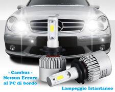 LAMPADE ABBAGLIANTI LED MERCEDES CLK W209 02-09 LAMPEGGIO ISTANTANEO 6000K