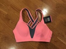 Incredible By Victoria's Secret Strappy-Back Sport Bra 34B Neon Nectar NWT