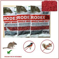 Rat Poison Max Strength  Rodex 25 Whole Wheat  Bait Professional Killer