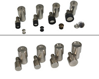 IstaTools Hohlnietwerkzeug 6mm, 7mm, 9mm, 12mm, Ösenpresse, Double Single Cap