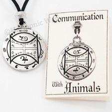 Necklace amulet Psychic Power Pendant Animal Talisman Communication with Animals