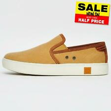 Timberland Amherst Mens Slip On Espadrille Canvas Casual Smart Shoes Trainers