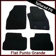 Fiat Punto Grande (199) 2005-2011 Fully Tailored Fitted Carpet Car Mats BLACK
