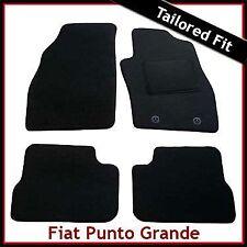 FIAT PUNTO GRANDE (199) 2005-2011 completamente montato su misura moquette tappetini Nero