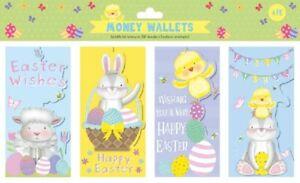 Packs EASTER / Christmas Money Wallets Gift Voucher Presents  1,4, 6 CASH
