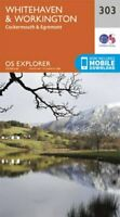 Whitehaven and Workington by Ordnance Survey 9780319245552 | Brand New