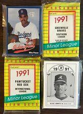 1991 Pro Cards BOISE HAWKS-Angels Minor League Complete UNOPEN Team Set F6105120