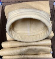 """Large Yellow 6"""" (ID) X 12' Industrial Dust Environmental Dust Collector Bag"""