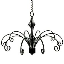 16cm 10 Hook Hanging Fountain Display Jewellery, Suncatchers, Baubles BLACK NEW