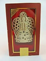 NEW Lenox Bright Christmas Angel Votive Candle Holder Porcelain Gold Accents