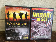 (2) DVD war movie sets:  WWII Collection & Victory at Sea