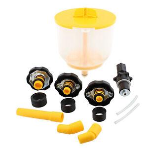ABN AC Radiator Funnel Fill Kit - Spill Proof Coolant Flush Set No Spill Bleeder