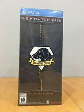 NIB Metal Gear Solid V The Phantom Pain Collectors Edition PlayStation 4 Sealed