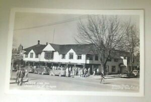 Vintage 1956 University of Oregon College Side Inn Real Photo Postcard