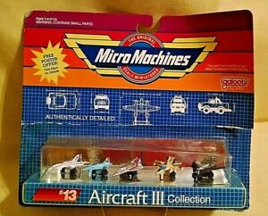 GALOOB MICRO MACHINES #13 AIRCRAFT III COLLECTION 6400 1988 NOS B-1 BOMB TD-18.