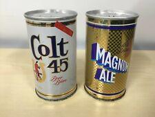 2 Vintage Beer Cans Lot #5