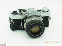 Olympus OM-1 Objektiv Zuiko 1,8/50mm SLR Kamera mit mechanischem Verschluss