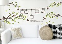 photo frame Wallpaper Removable Art Vinyl Quote DIY Wall Sticker Decal Mural