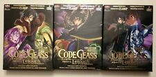 LOT COFFRETS DVD CODE GEASS COLLECTOR BOX VOL.1 + 2 + 3