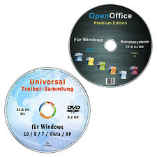 Universal Treiber-Sammlung für Windows + OpenOffice Premium Edition
