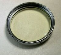 Carl Zeiss Ikon 27mm UV S27 Lens filter  Threaded screw in Contax