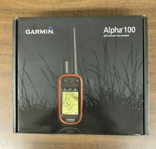 Garmin ALPHA100 GPS Receiver Track And Train Handheld New In Box Free Shipping