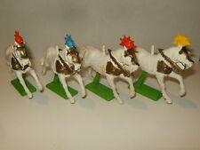 LOT de 4 DEETAIL BRITAINS ENGLAND 1971 CHEVAUX