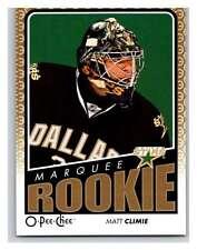 (HCW) 2009 O-Pee-Chee #761 Matt Climie RC Rookie Stars Mint NHL