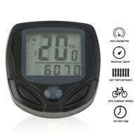 Waterproof Wireless LCD Digital Cycle Bike Computer Bicycle Speedometer LK