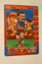 BRISBANE LIONS - Footy Pointers Card - Pearce Hanley