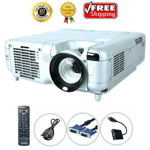 NEC MT860R 3LCD Projector 2800 ANSI 1080p HD HDMI-adapter w/bundle