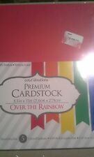 Core'dinations premium cardstock 8.5 x 11 over the rainbow - smooth