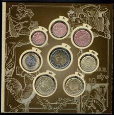 Monedas euro en prueba Cataluña 2020 Catalunya coins trial Catalonia