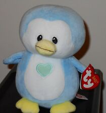 2017 Baby Ty Twinkles the Blue Penguin -Brand New Line from the Ty Company ~Mwmt