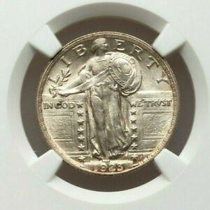 1923-P Standing Liberty Quarter, MS63, NGC
