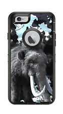 Skin Decal Wrap for Iphone 6 6S Otterbox Defender Case Wooly Mammoth Colossal