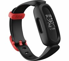 FITBIT Ace 3 Kid's Fitness Activity Tracker - Black & Red Universal - Currys