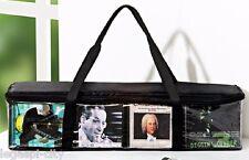 Organizer-Tasche für CD´S passend für ca 40 cd´s mit Griffen zum tragen schwarz