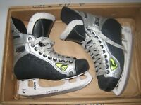 Graf Supra 135 Youth Boys Ice Hockey Skates Sz 3.5 3 1/2 Jr HTF Most Comfortable