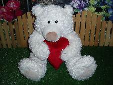 Halmark Heartly Plush Bear - Talks & Hugs Heart - Gr8 Used Condition