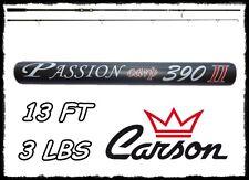 CANNA CARSON PASSION CARP 390 3 LIBRE IN CARBONIO CARPA PESCA CARP FISHING