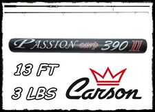 CANNA DA CARPFISHING 3 LBS 13 PIEDI PASSION CARP FISHING CARBONIO POTENTE PESCA