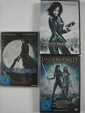 Underworld + Evolution + Aufstand Lykaner, Vampir Werwolf Gothic Horror Sammlung