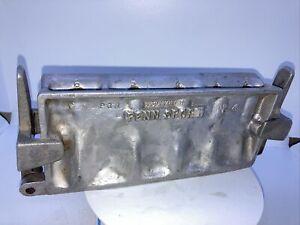 Vintage PENN SPORT NO. 4 LEAD MOLD Aluminum Fishing Fish Line Sinker Weight