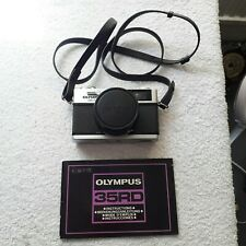 Olympus 35 RD vintage film camera with instructions manual and Shoe Horn