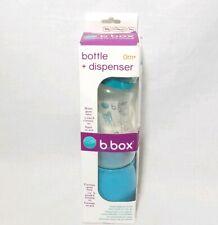 B.Box Baby Bottle + Dry Formula Dispenser On The Go Blue 8oz NEW