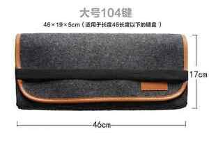 GH60 60% 87/104/108 Keys Mechanical Keyboard Bags Poker Dustproof Storage Bags